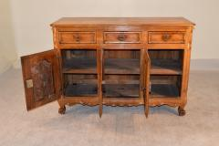 18th Century French Cherry Enfilade - 280182