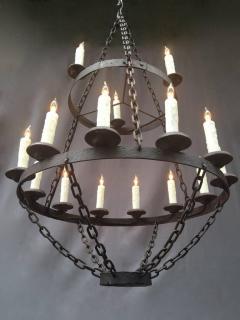 18th century french originally pricket iron chandelier 18th century french originally pricket iron chandelier 549715 aloadofball Gallery