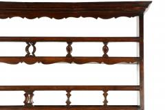 18th Century French Provincial Antique Carved Pine Bookcase Cupboard - 1159260