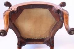 18th Century George I Walnut Armchair - 1914321