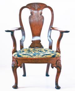 18th Century George I Walnut Armchair - 1914344