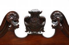 18th Century George II Mahogany Secretary Bookcase - 877653