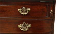 18th Century George II Mahogany Secretary Bookcase - 877654