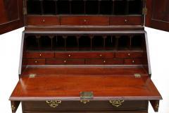 18th Century George II Mahogany Secretary Bookcase - 877656