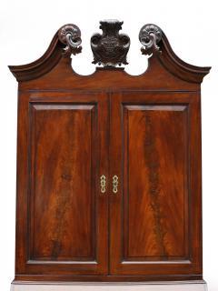 18th Century George II Mahogany Secretary Bookcase - 877662