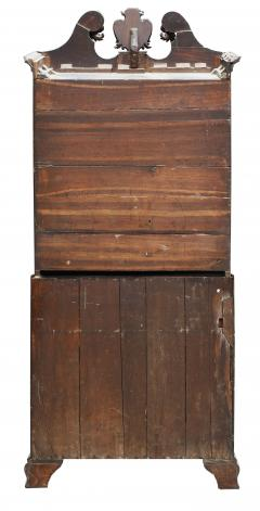 18th Century George II Mahogany Secretary Bookcase - 877671