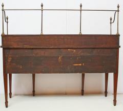 18th Century Georgian Mahogany Sideboard with Brass Gallery Rail - 1914158
