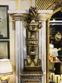 18th Century Italian Torchieres on Early 20th Century Plinths - 1920195