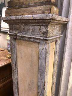 18th Century Italian Torchieres on Early 20th Century Plinths - 1920203