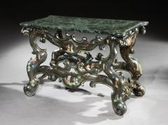 18th Century Italian Venice Polycromatic Painted Decorated Console Table - 1137651
