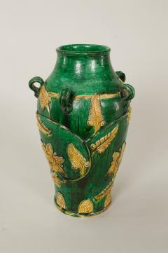 18th Century Japanese Gennai Ware Vase - 1805097