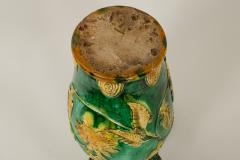 18th Century Japanese Gennai Ware Vase - 1805115