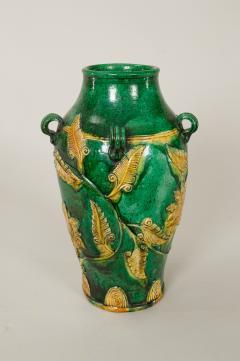 18th Century Japanese Gennai Ware Vase - 1805141