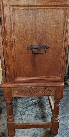 18th Century Mexican Texas Bargueno Style Chest on Stand Important - 1659838