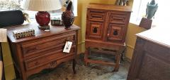 18th Century Mexican Texas Bargueno Style Chest on Stand Important - 1659840