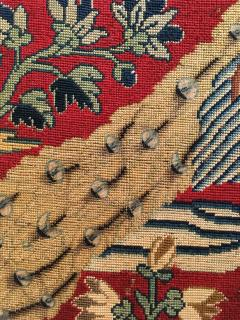 18th Century Needlework Picture with Peacock and Parrot - 947005