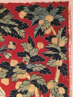18th Century Needlework Picture with Peacock and Parrot - 947008