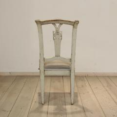 18th Century Painted Louis XVI Side Chair   639161