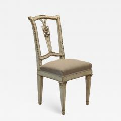 18th Century Painted Louis XVI Side Chair   641810