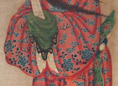 18th Century Painting of a Chinese Lohan - 801953