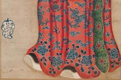 18th Century Painting of a Chinese Lohan - 801954