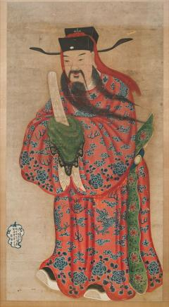 18th Century Painting of a Chinese Lohan - 802452