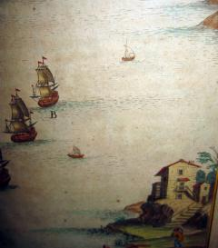 18th Century Set Hand Colored Nautical Engravings Set of Four - 785269