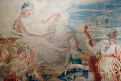 18th Century monumental antique tapestry from Brussels Wedding of Psych  - 956559