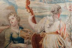 18th Century monumental antique tapestry from Brussels Wedding of Psych  - 956565