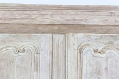 18thC French Bleached Walnut Armoire - 2136365