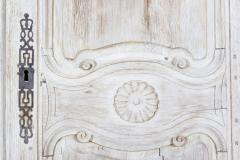 18thC French Bleached Walnut Armoire - 2136369