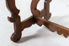 18thC Provincial Italian Walnut Table - 2120857