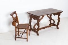 18thC Provincial Italian Walnut Table - 2120863