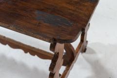 18thC Provincial Italian Walnut Table - 2120864