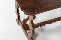 18thC Provincial Italian Walnut Table - 2120866