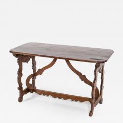 18thC Provincial Italian Walnut Table - 2122512