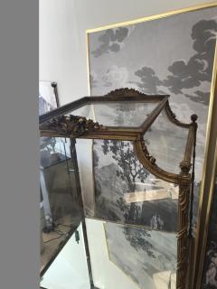 19 Century Italian Showcase with Mirror Base - 575800