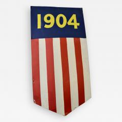 1904 Teddy Roosevelt President Inaugural Shield Rare - 1360474