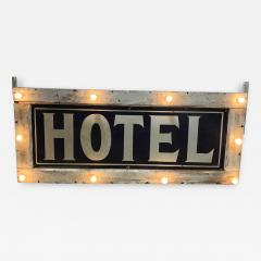 1905 Light Up Double Sided Hotel Sign - 1369171