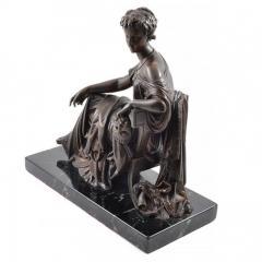 1910 Bronze Mask of Tragedy By Leon Pilet France 1839 1916 - 143993