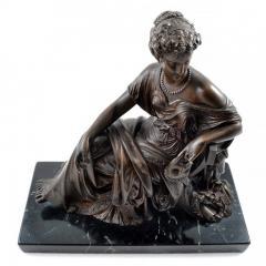 1910 Bronze Mask of Tragedy By Leon Pilet France 1839 1916 - 143995
