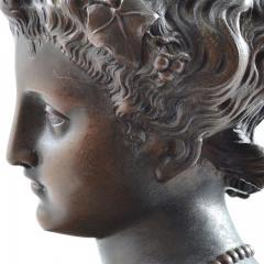 1910 Bronze Mask of Tragedy By Leon Pilet France 1839 1916 - 143996