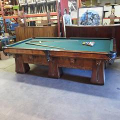 Brunswick Arcade Pool Table With Rare SixLegged Base - Pool table base