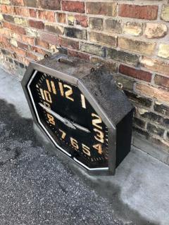 1920s American Neon Clock - 1368212