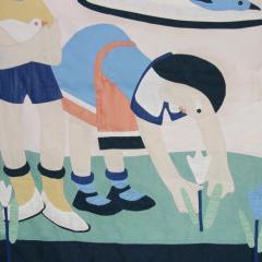 1930 s Modernist Child s Quilt - 189218