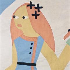 1930 s Modernist Child s Quilt - 189219