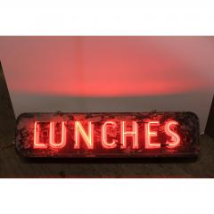 1930S NEON SIGN LUNCHES - 1046791