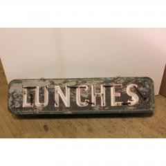 1930S NEON SIGN LUNCHES - 1046792