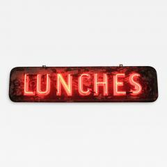1930S NEON SIGN LUNCHES - 1048584