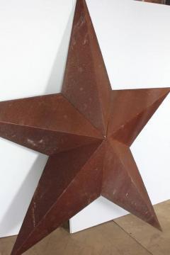 1930s American Folk Art Metal Star Sculpture - 361399